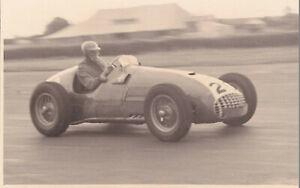 FERRARI FORMULA 2, CAR No.20, BRITISH GRAND PRIX SILVERSTONE JULY 1952 PHOTO