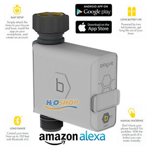 details zu orbit b hyve bluetooth hose smart watering tap timer controller alexa compatible
