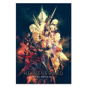 details zu final fantasy xiv 14 online heavensward key art poster high quality prints