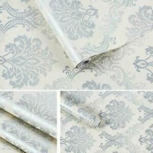 Removable Damas Room Decor Wallpaper Waterproof Furniture Contact Paper Decal Uk Ebay