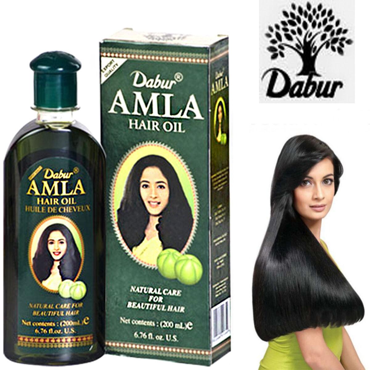 Dabur Amla Hair Oil Rapid Hair Growth Nourishing Prevent
