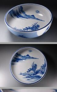 Large Arita Bowl Beautifull Japanese Porcelain 19th c Edo/Meiji Period [...