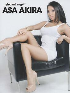 Image Is Loading Asa Akira Rare 2014 Elegant Angel Photo Avn