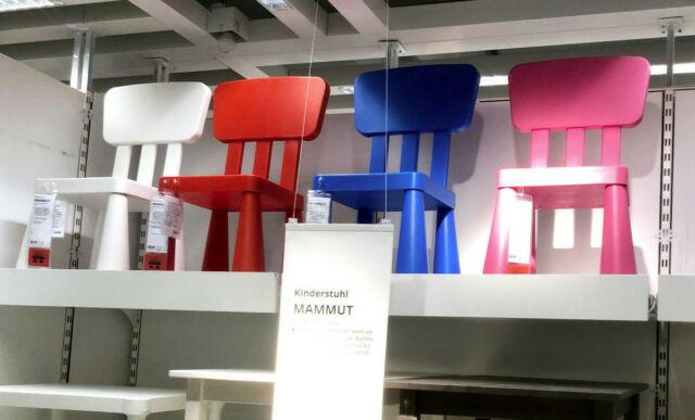ikea mammut chaise pour enfant rouge avec dossier siege meubles groupe