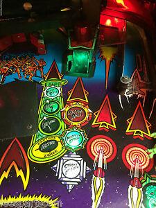 Stroke of Luck Lights for Revenge from Mars Pinball ...