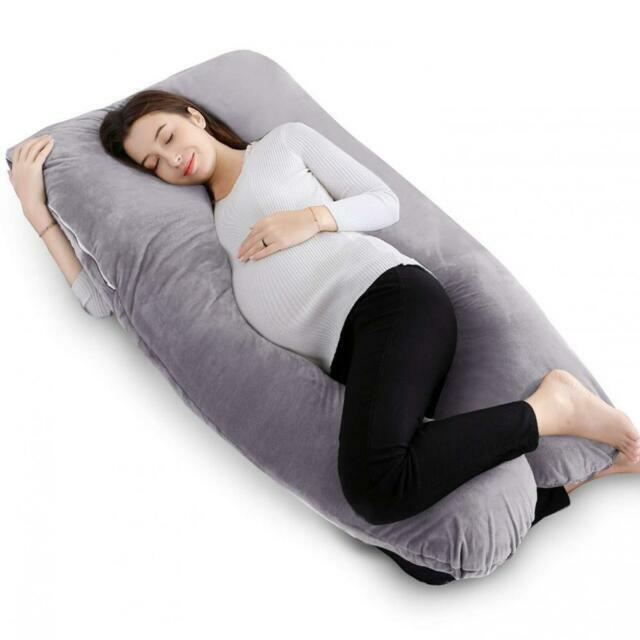queen rose full body pregnancy pillow with washable cover u shaped by classic