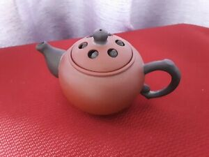 Vintage Small Chinese Yixing Zisha Clay Pottery Miniature Teapot