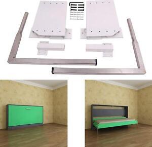 details zu diy murphy wall bed springs mechanism hardware kit horizontal wall bed mounting