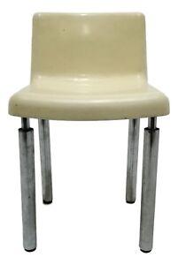 Le sedie possono essere unite mediate dei raccordi. Sedia Di Design Da Collezione Originale Anni 70 Vintage Modernariato Ebay