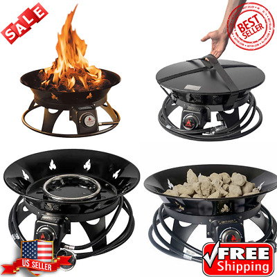 OUTLAND Firebowl Cypress Outdoor Firepit Carry Kit ... on Outland Living Cypress Fire Pit id=80208