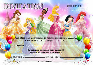 details about 5 12 or 14 birthday invitation cards princess ref 457 show original title