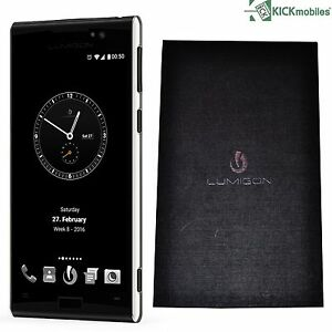 BNIB LUMIGON T3 128GB STAINLESS STEEL BLACK DUAL SIM FACTORY UNLOCKED 4G SIMFREE