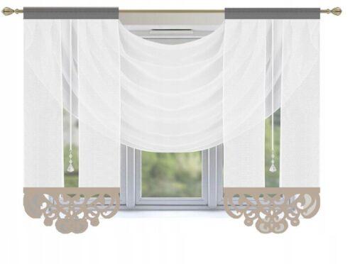 fini rideau coulissant rideau rideau paques fenetre rideau voile panneau 3tlg