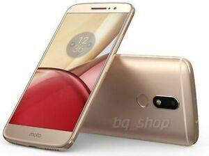 "Motorola Moto M XT1662 32GB Gold 16MP 5.5"" 4GB RAM Android Phone ByFedEx"
