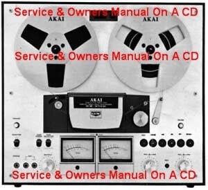 AKAI GX270D SERVICE & OPERATOR'S MANUAL ON A CD   eBay