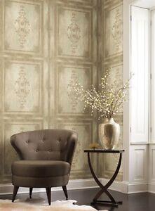 Rinnoviamo le pareti della tua casa o azienda con qualità e stile. York Finto Legno Architettonico Pannello Blocco Sicuro Carta Da Parati A Strisce Hp0382 Ebay