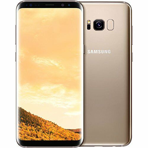 Samsung-Galaxy-S8-Plus-Dual-Sim-G955FD-4G-64GB-6-2-034-Factory-Unlocked-Maple-Gold