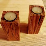 Handmade Candlestick Unusual Candle Holder Wooden Decor Element For Home For Sale Ebay