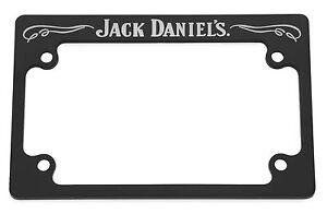 Jack Daniels Motorcycle Black License Plate Frame - fits ...