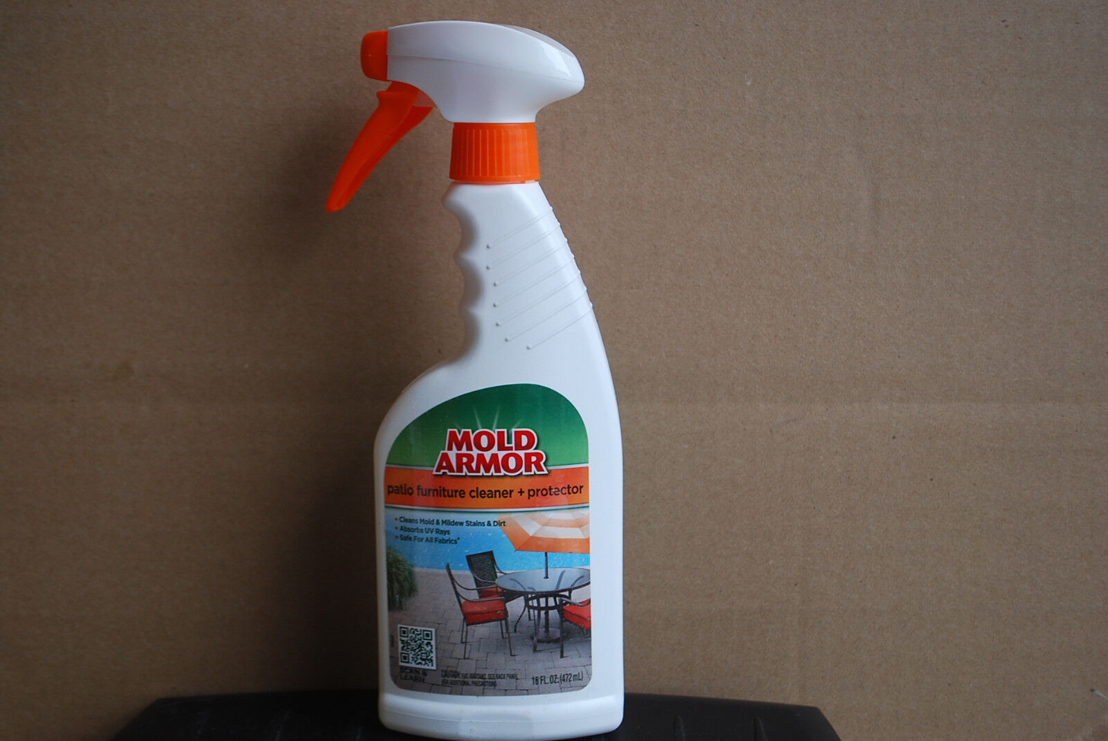 mold armor fg530 patio furniture cleaner and protector trigger spray 16 oz