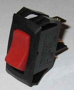 Carling Tech Switch Illuminated Rocker  SPST  125V 16A