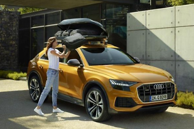 genuine audi q8 roof bars for vehicles with flush roof rails only ebay