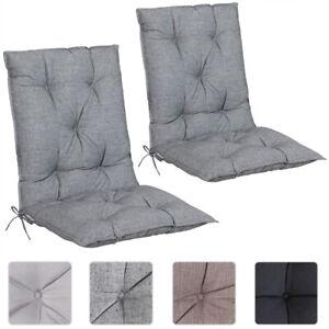 details sur 2 coussins de chaise avec dossier coussin fauteuil interieur exterieur jardin