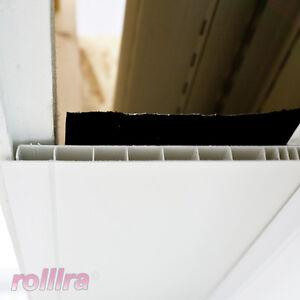 Rollladenkasten Kastendeckel PVC isoliert Abschlussdeckel Deckel
