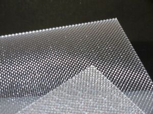 details about 3 mm clear prismatic perspex light diffuser 200 mm x 100 mm lighting etc