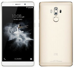 "Original Unlocked ZTE Axon 7 Max 4G Adroid SmartPhone Snapdragon 625 6.0"" 4+64GB"