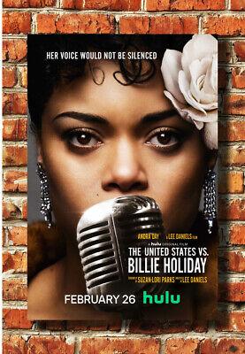 the united states vs billie holiday movie poster 2021 custom print decor f626 ebay