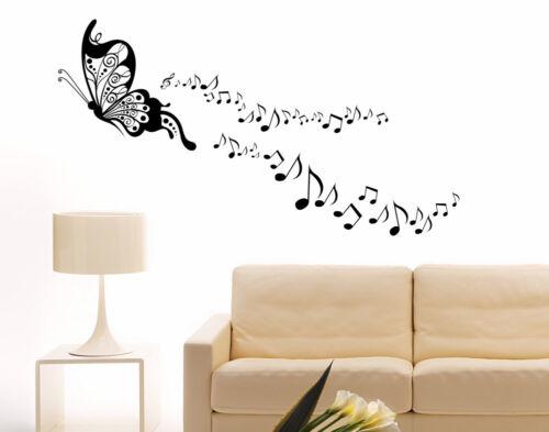 Scopri la nostra gamma di adesivi da parete e stickers a tema musicale: Decals Stickers Vinyl Art Adesivi Murali Farfalle Musica Note Musicali Wall Stickers Da Parete Per Muro Home Garden Citricauca Com
