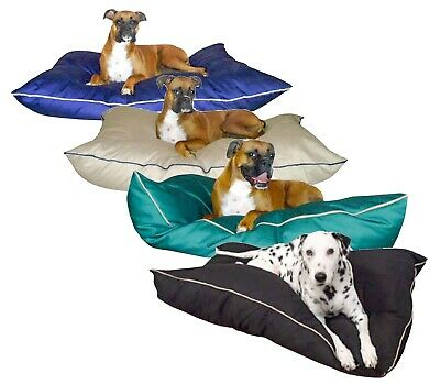 large breed washable dog bed 35 x 46 giant pet pillow poly fiber fill ebay