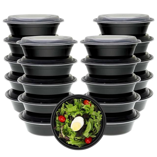 Freshware Meal Prep Containers [21 Pack] Bowls with Lids, Food Storage Bento Box 2