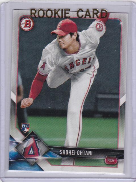 SHOHEI OHTANI ROOKIE CARD 2018 Bowman Baseball RC ANAHEIM ...