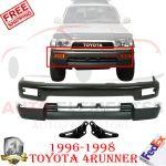 Front Bumper Primed Steel Valance Bracket For 96 98 Toyota 4runner Base Sr5 Ebay