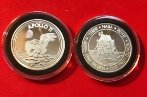 1969-2019 Apollo 11 50th Anniversary Commemorative 1oz ...