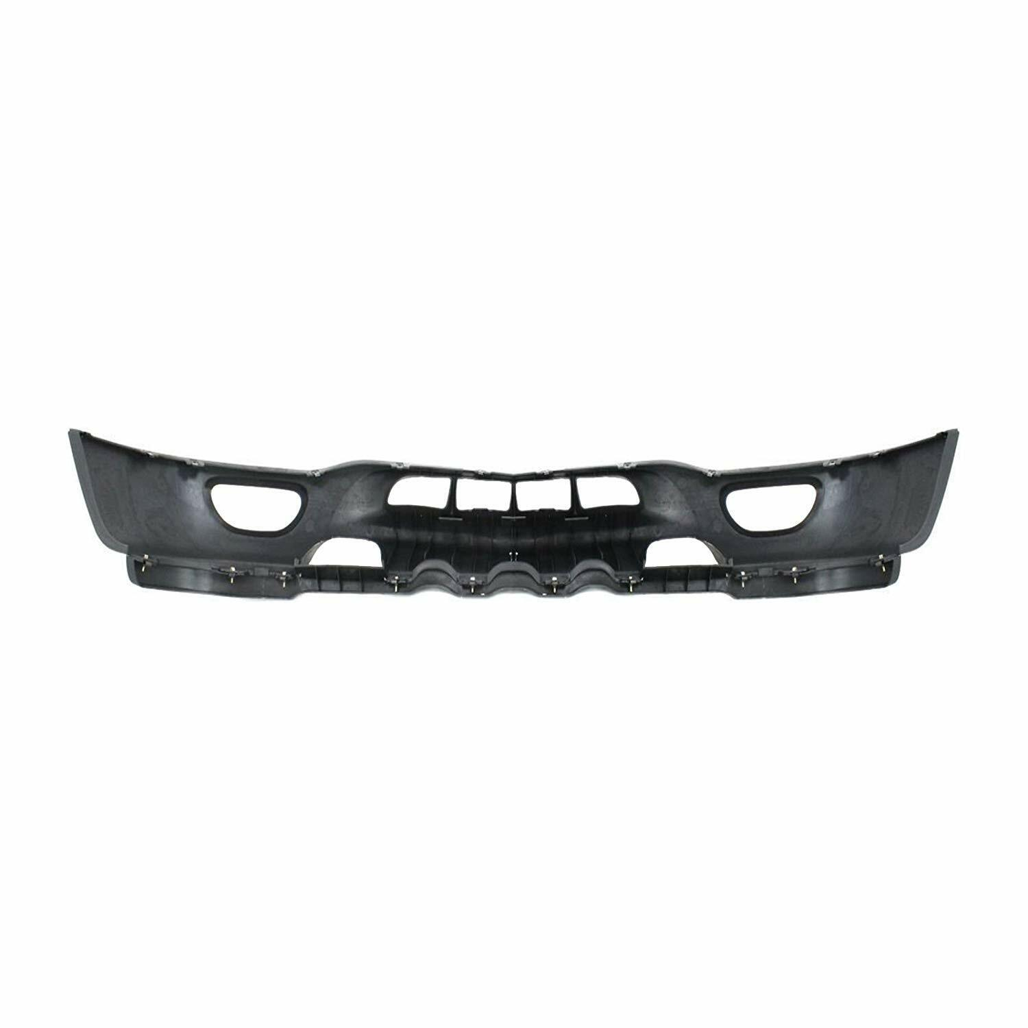 Front Bumper Pad Face Bar Chrome Valance For