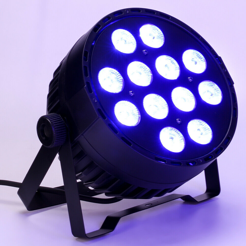 LED Par Light Dance Floor Up Lighting RGBW DMX Color Mixing Party DJ Stage Light
