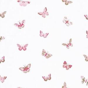 I tessuti sanderson per divani e per l'arredamento in genere sono un classico, tra i più iconici nel modo della tappezzeria. 100824535 Bambina Potenza Farfalle Rosa Casadeco Carta Da Parati Ebay