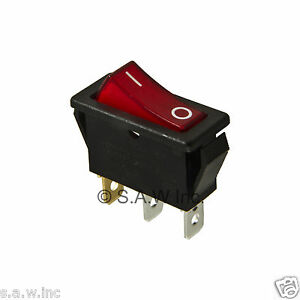 Rocker Switch Lighted On Off for Electric Fireplaces FMI Desa 12092724 120 volt | eBay