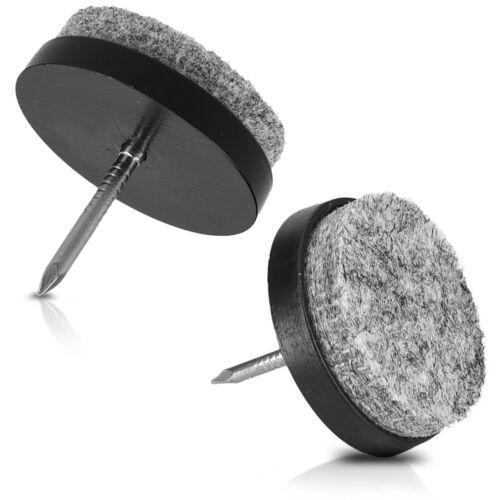 bricolage 20x patin a clou en feutre o 28 mm protection du sol pieds de meubles chaises togao