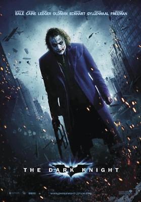 batman the dark knight poster joker heath ledger filmplakat 68 x 98 cm