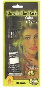 b in hair color green glow in the dark made in usa halloween makeup ebay