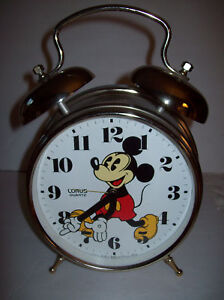 Vintage Mickey Mouse Lorus Quartz Two