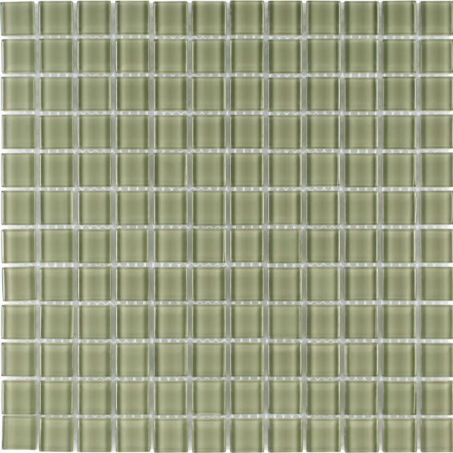 modern uniform squares green glass mosaic tile backsplash kitchen wall mto0366