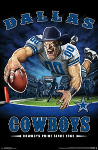 Dallas Cowboys COWBOYS PRIDE SINCE 1960 End Zone TD Dive