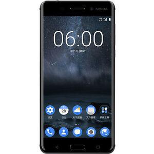 New Nokia 6 Dual SIM 32GB/4GB Factory Unlocked 5.5'' Black - IN SEALED BOX US