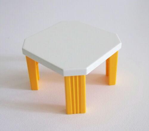 playmobil speelgoed en spellen playmobil table blanche orange pour cuisine 3968 maison moderne r245