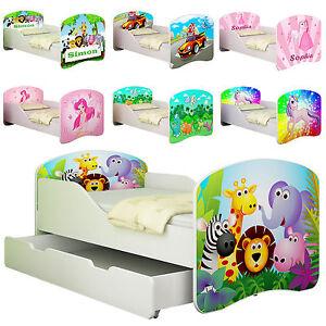 details sur lit enfant bebe 140 x 70 160 x 80 matelas livraison gratuite